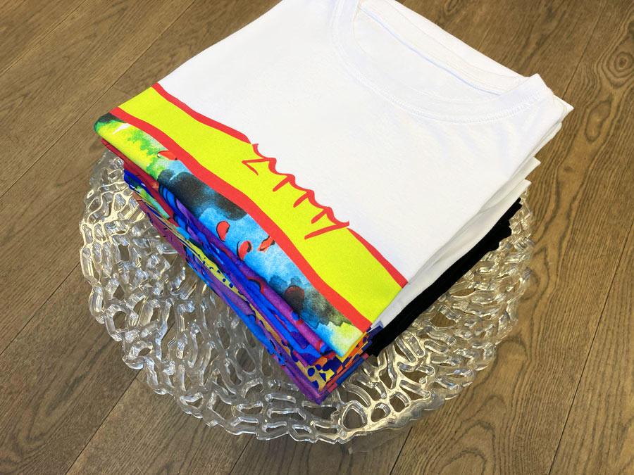 t-shirts Zummy in pila