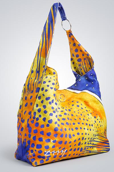 Zummy borsa blu gialla
