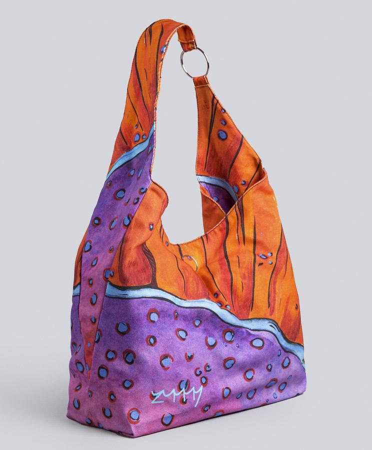 zummy bag arancione laterale
