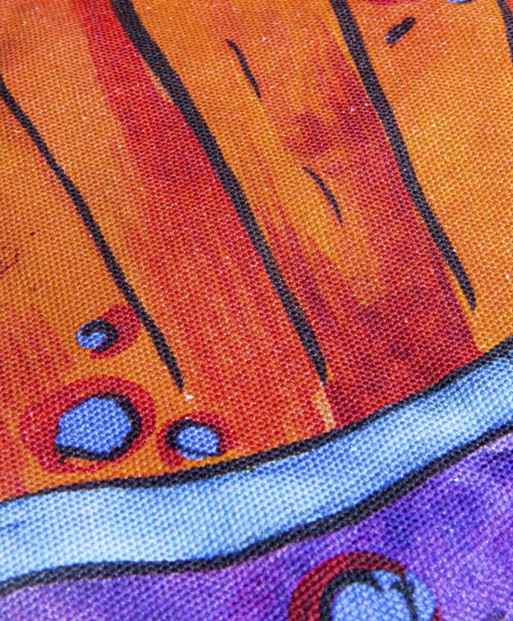 zummy bag arancione trama