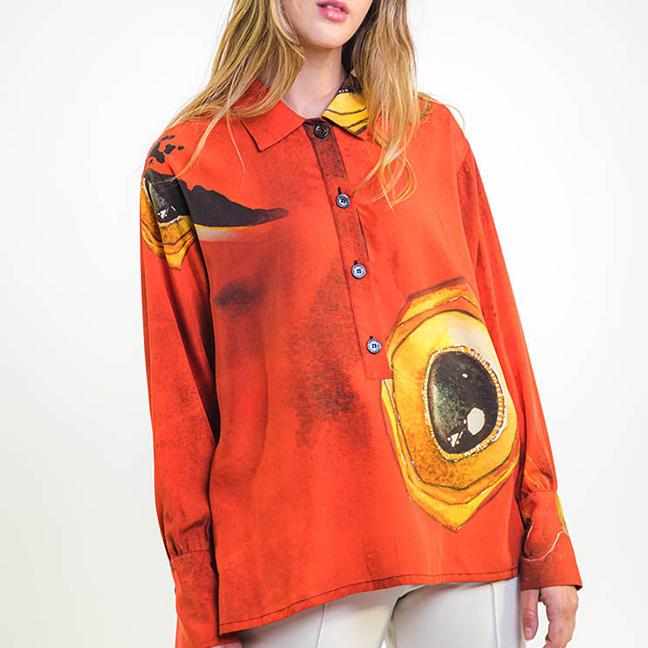 zummy camicia rossa fall winter