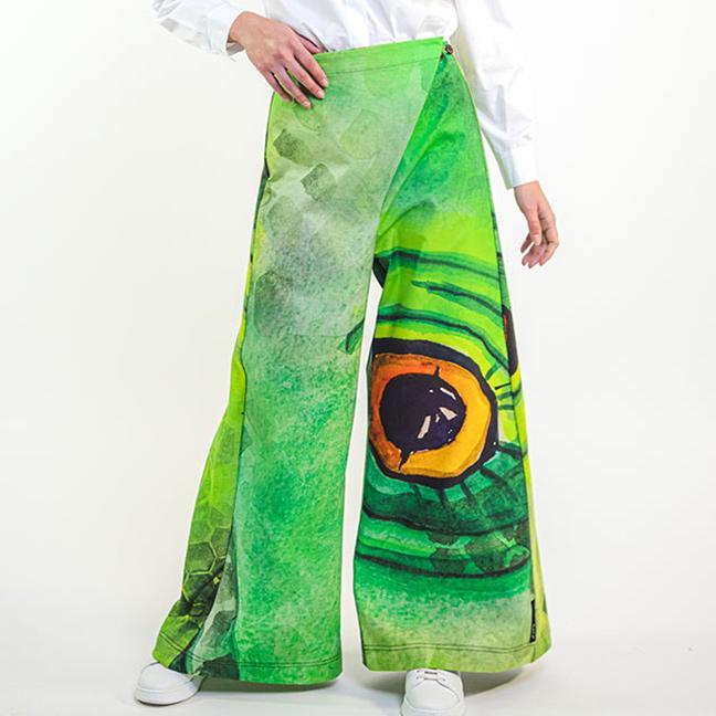 zummy pantaloni eleganti verdi fall winter