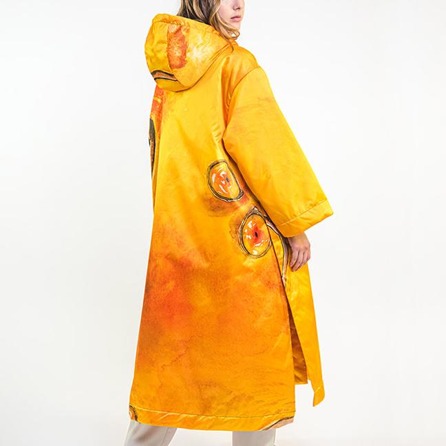 zummy piumino donna giallo fall winter