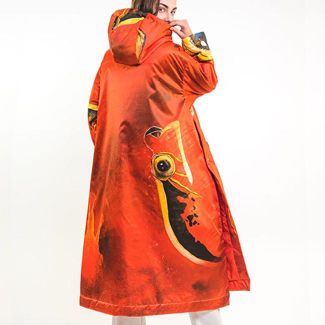zummy piumino donna rosso fall winter
